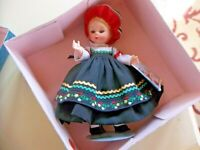 Vintage Madame Alexander Finland 561 Country Costume Doll in Original Box