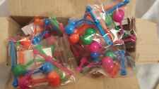 48 x MINI CLACKERS PARTY LOOT BAG GIFTS CHARITY RESALE CHRISTMAS SCHOOL LEAVERS