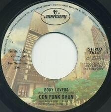 "CON FUNK SHUN Body Lovers/Give Your Love To Me 7"" 1981 Mercury EX+"