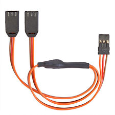 Servo Y Cable Graupner JR Uni 0.14 M2 Flat PVC 300 mm partcore 130004