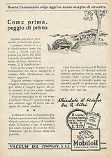 Y0962 Gargoyle MOBILOIL - Piccola Illustrazione - Pubblicità 1928 - Advertising