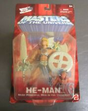 He-Man 2001 MOTU Masters of the Universe Mattel MOC 200x IRON CROSS Variant