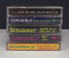 Lot 5 Rock Cassette Tapes - Dinosaur Jr/Fossils/Where You Been also Kiss covers