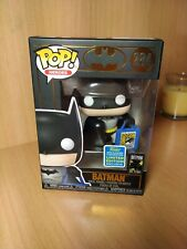 Funko pop Batman with bag sdcc 2019 san diego comic con 50 years 284 80 years