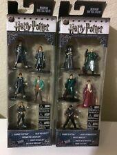 Brand New!!! Harry Potter Nano Metalfigs Set of 10 - Both boxed sets!