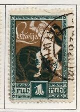 Latvia 1919-21 Early Issue Fine Used 1R. 182314