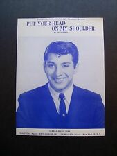 Put Your Head On My Shoulder by Paul Anka sheet music