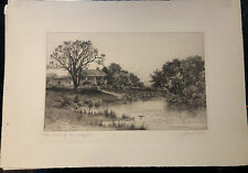 Antique Etching The Home Of ... | 1890-1920