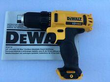 "Brand New DeWALT DCD710 12V 3/8"" Cordless Drill Driver DCD710B Bare Tool"