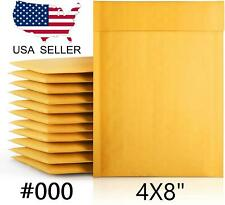 4x8 Kraft Bubble Mailer Padded Self Seal Envelope 4x7 000 25 50 100 500