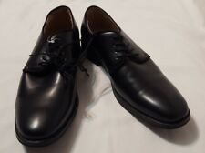 04a6de8e747 New W O Tags Men s Merona Black Lace Up Cap Toe Oxfords Dress Shoes Size