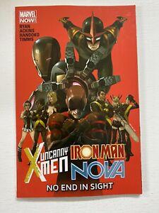No End in Sight #1 Marvel 1st Print 8.0 VF (2014) Uncanny X-Men Iron Man Nova