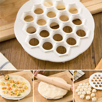 DIY Dumpling Mante Ravioli Pierogi Pelmeni Mold Maker Kitchen Dough Press Cutter