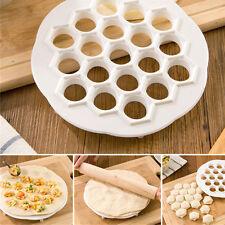 DIY Dumpling Mante Ravioli Pierogi Pelmeni Mold Maker Kitchen Dough Press Cutter