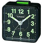 Casio TQ140 Mini Beep Compact Analogue Alarm Clock Black New