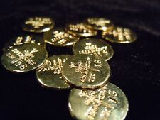 (3) (1 GRAM BAR) USA BULLION 3-1g 22K PLACER GOLD ROUND'S FROM THE MINE APM #7A1