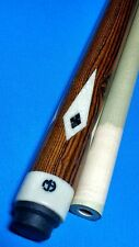 Michael J custom sneaky Pete style pool cue 18.50oz 12.65mm