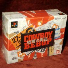 Brand New✨Cowboy Bebop Limited Box Set✨Playstation 2 PS2 Japan JPN Complete RARE