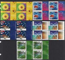 Australia 2000 Nature & Nation Block of 4 Stamp Set