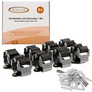 8x Gerätehalter Besenhalter Gartengerätehalter Stielhalter Werkzeughalter