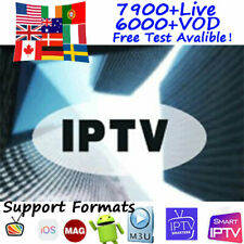 Ip Tv 1 Year Subscription Smart Tv Android Box Smarters Pro Stb Mag Adult M3U
