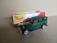 581K Solido Hachette Ford V8 Vert 1936 US 1:43 + Boite