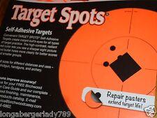 "8 - 8"" + 96 CU SELF ADHESIVE TARGET STICKERS TARGETS RIFLE SHOOTING PISTOL RANGE"