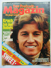 Freizeit Magazin 4/77, ChristianAnders, David Dundas, ABBA, Mary Roos, Otto,Kiss