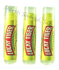 Lip Balm 3 Tubes by Lucky Tiger Peppermint
