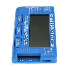 Radio Control CellMeter - 8 Digital Comprobador de la capacidad de la batería para la vida NiCd Nimh Lipo Li-Ion