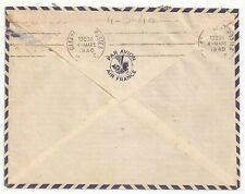 Air France Indo China air mail to Morocco 1940 (P1.33)