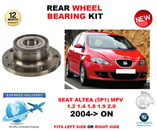 para SEAT ALTEA Kit de rodamientos rueda trasera 2004->On 5p1 MPV Left o