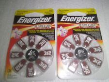 Energizer Hearing Aid Size 312 Batteries, 16 Count (AZ312DP-8)-04/2021