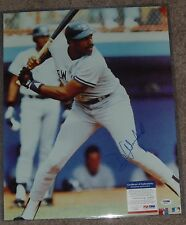 DAVE WINFIELD SIGNED AUTO'D 16X20 PHOTO POSTER PSA/DNA NEW YORK YANKEES HOF