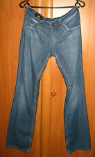 Women's Lee Jinx Jeans Straight Leg Low Rise Medium Blue Zip Fly Size 28-33