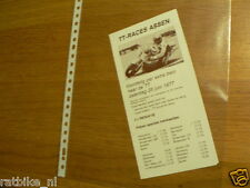 1977 FLYER DUTCH TT ASSEN  TREIN ,TRAIN