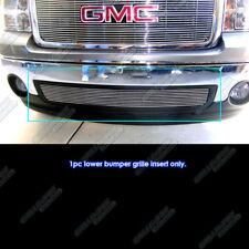 Fits 2007-2013 GMC Sierra 1500/07-10 2500/Denali Bumper Billet Grille 08 09 10