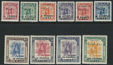 1951 Libia x Fezzan 10v. MNH Cat Sass n. 14/23 € 1200,00