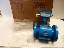 Krohne Ifs 4000 F6 Magnetic Flowmeter 2 Altometer Ifs4000 150 Psi New