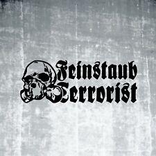 Feinstaub Terrorist Aufkleber Oldschool Sticker Rat Look Ratte Shocker 061