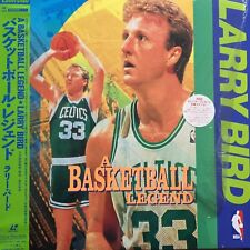 LASERDISC - Larry Bird A Basketball Legend / SONY SRLM 839 JAPAN LD OBI A1303
