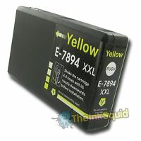 1 Yellow T7894 non-OEM Ink Cartridge For Epson Pro WF-5620DWF WF-5690DWF