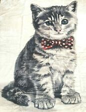 Cat Kitten Print Throw Large Blanket Super Soft 150 x 200cm - NEW