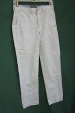 Ralph Lauren Rugby Antique Slim Khaki Cotton Twill Pants Men's 28/28 Sri Lanka