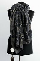 Gucci  scarf shawl  new genuine Made in Italy 100% wool 90x180 cm