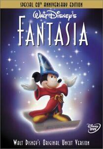 Brand New Disney DVD Fantasia (Special 60th Anniversary Edition) 2000