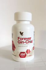 Forever Gin-Chia Ginseng and Chia Powerful antioxidant KOSHER / HALAL Exp. 2023