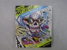 Crayola Art With Edge Optical Illusions Coloring Book Sugar Skulls Frameable Art