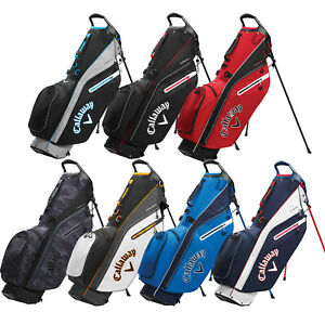 Callaway Mens Fairway C Double Strap Golf Stand Carry Bag 4 Way Full Length