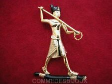 "Broche ""Egypte antique"" N° 6 Pharaon Momie Sarcophage - Bijoux Vintage Sphinx"